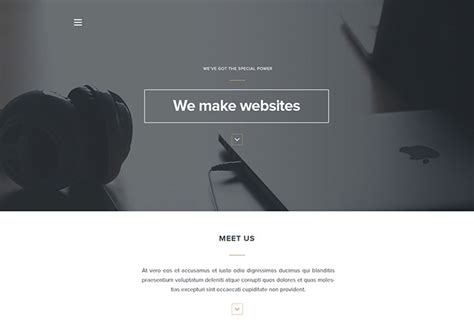 free minimal html template 20 minimalist psd website templates web graphic design