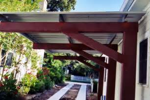 Bamboo Sun Shades Patio Metal Patio Covers Metalink Austin Tx
