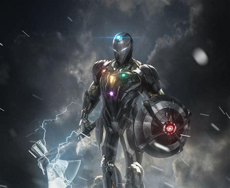 wallpaper iron man avengers hd creative graphics
