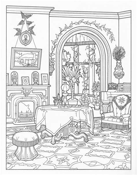 decorated house coloring pages house victorian coloring pages 25317 bestofcoloring com
