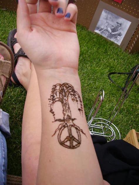 peace henna tattoo peace tree by henna tattoos ogden utah