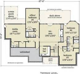 house plans with media room briarcliff cabin lodge house plan alp 0952