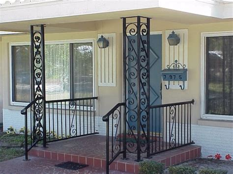 Decorative Metal Porch Posts by Decorative Metal Porch Columns Pictures To Pin On