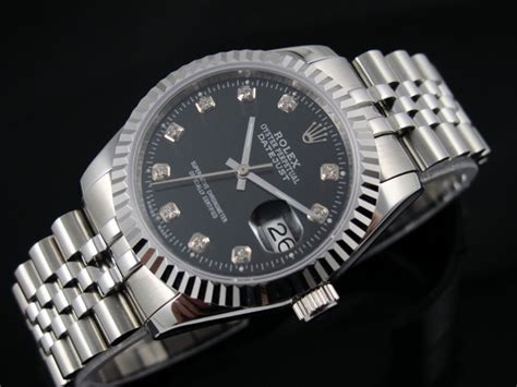 Jam Rlx Oyster Just Stainless 25 Mm Set Gold rolex datejust 36mm swiss automatic black