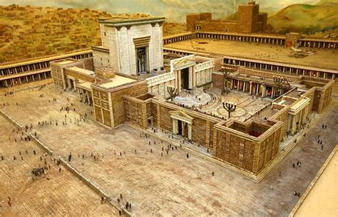 Houses With Courtyards In The Middle by Herod S Temple Unorthodox Faith