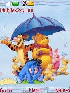 6300 themes cartoons winnie the pooh free nokia 6300 theme download download
