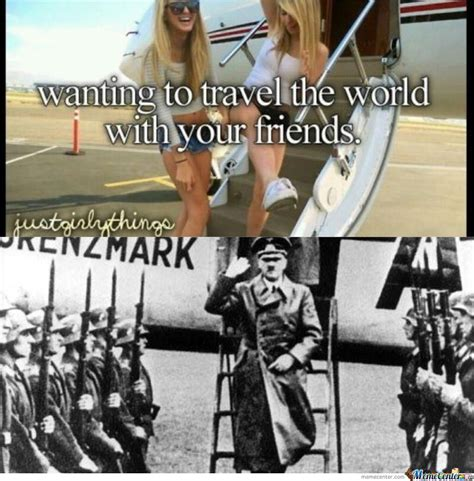 Travel Meme - travel the world by shadowgun meme center