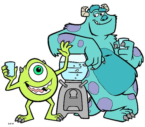 monster inc clipart free clipart images cliparts and