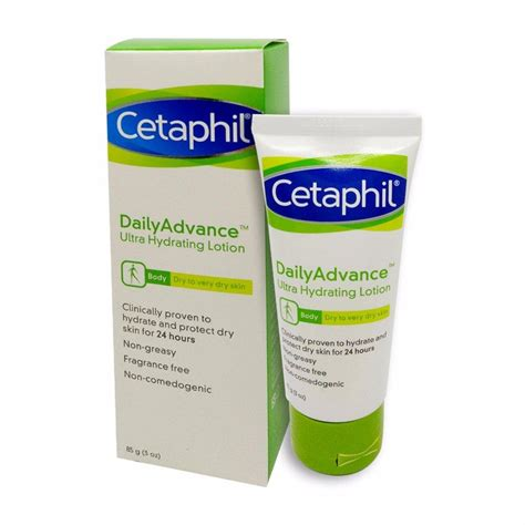 Cetaphil Daily Advance Lotion cetaphil daily advance ultra hydrating lotion 85g