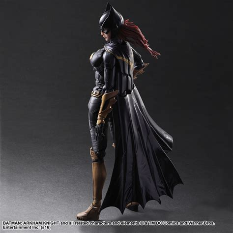 Ngpa68 Play Arts Batgirl Arkham Batman Dc Comics play arts batman arkham batgirl figure