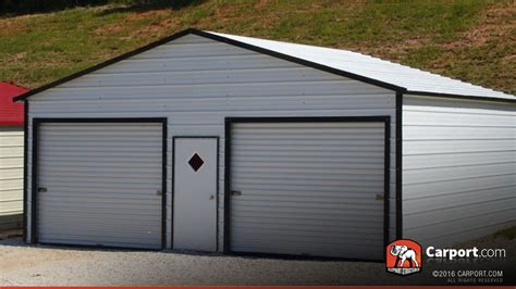 Eco Friendly Diy Products metal garage building boxed eave roof 22 x 21 shop