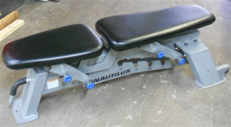 nautilus adjustable bench benches
