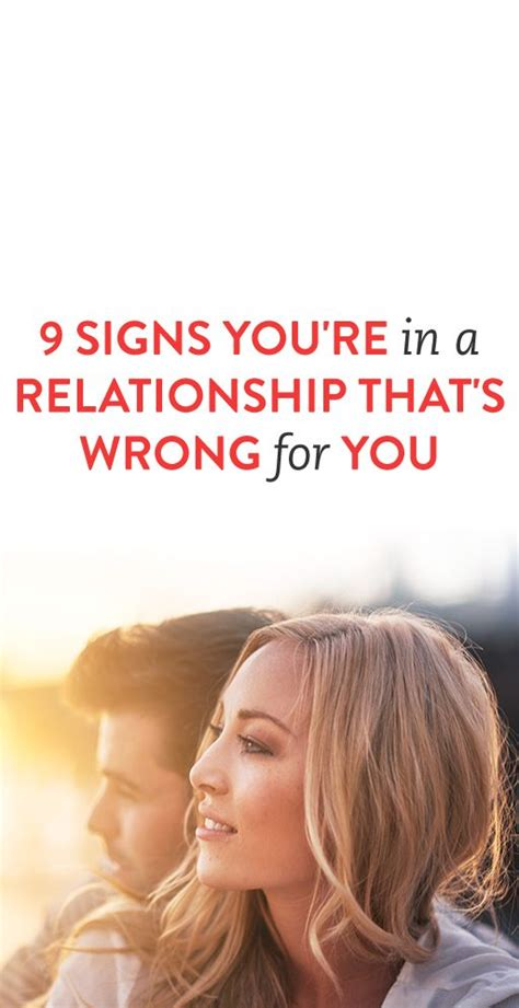 Signs Of A Healthy Relationship by 9 Signs You Re In A Relationship That S Wrong For You