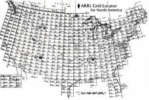 ham radio us grid map n2or s callsign page
