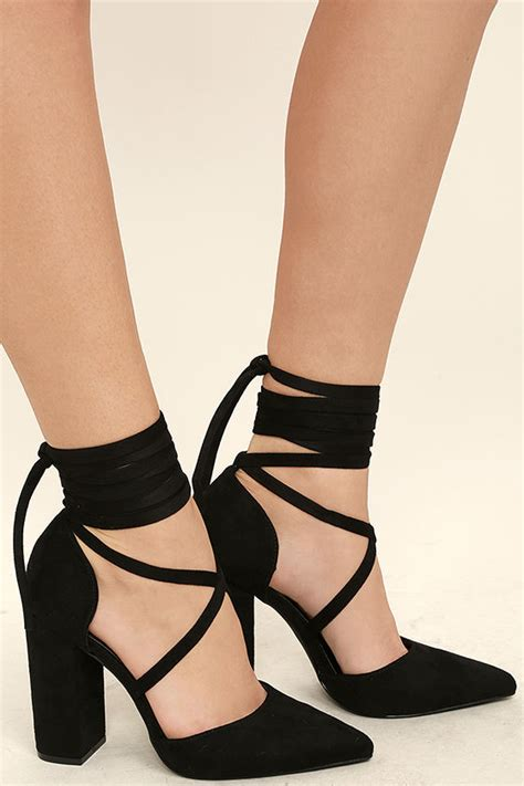 black high heels for juniors black heels lace up heels black pumps 31 00