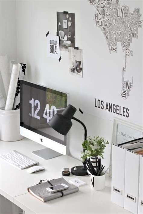 putting white space to work home inspiration black white work spaces i