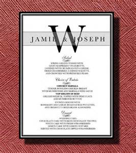 wedding reception menu template dinner menu template 33 free word pdf psd eps