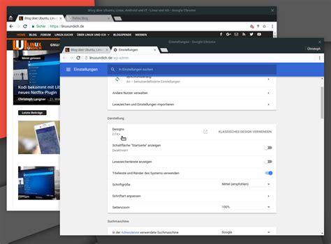 chrome themes linux native desktop benachrichtungen unter linux mit chrome 59
