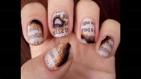 imagenes de uñas decoradas transparentes dise 241 os de u 241 as decoradas con blanco y transparente youtube