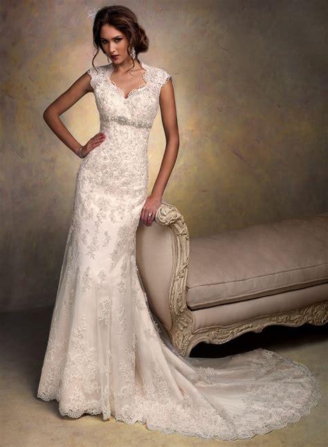 Maggie Sottero Bernadette Size 4 Wedding Dress ? OnceWed.com