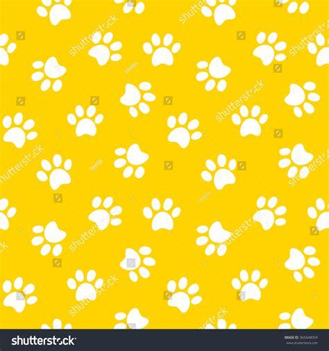 seamless pattern shutterstock paw print seamless pattern stock vector 365448059