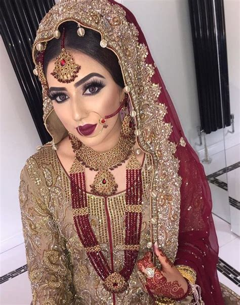 Best 25  Pakistani bridal makeup ideas on Pinterest