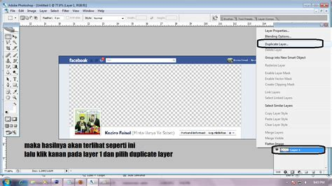 cara membuat facebook unik cara membuat sul fb unik
