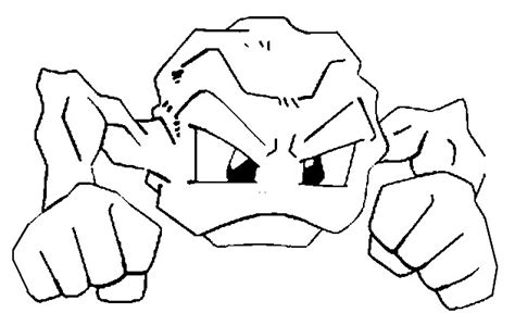 pokemon coloring pages geodude coloring pages pokemon geodude drawings pokemon