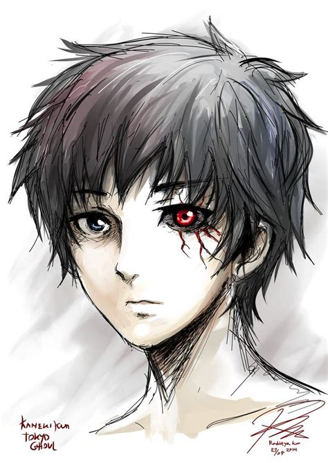 Anime W Stylu Tokyo Ghoul by Tokyo Ghoul Anime Chang E 3 Tokyo
