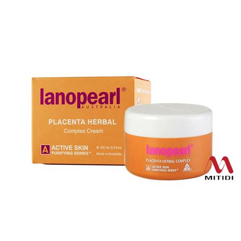 Lanopearl Placenta Herbal Complex mitidi chống l 227 o h 243 a