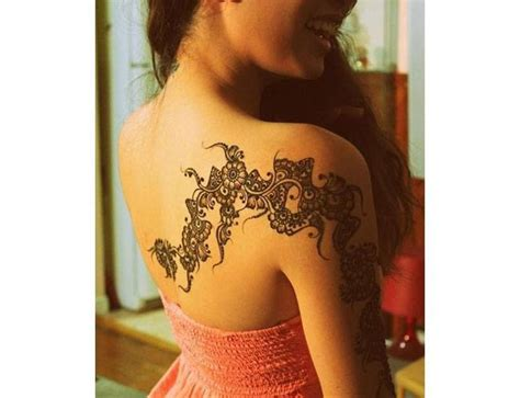how do you get henna tattoos off henna tattoos for your shoulder get creative with