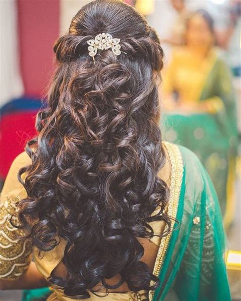 braided hairstyles on saree half up half down hairstyle for saree