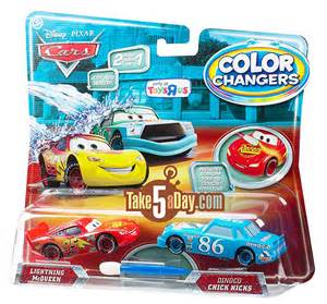 cars 2 color changers mattel disney pixar diecast cars color changers four