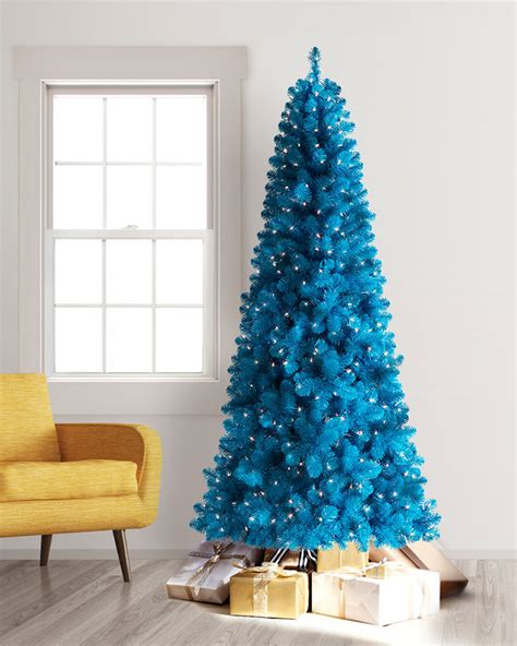 photos of blue christmas trees blue artificial tree treetopia