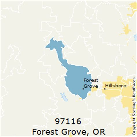 forest grove oregon map best places to live in forest grove zip 97116 oregon