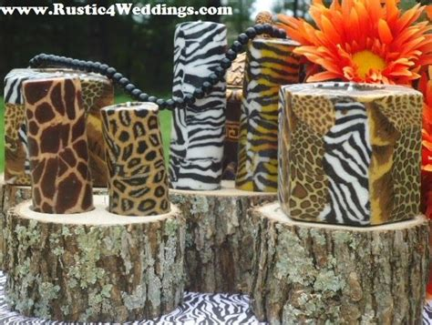 1000 images about safari wedding centerpieces on pinterest