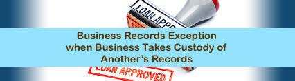 Records Exception
