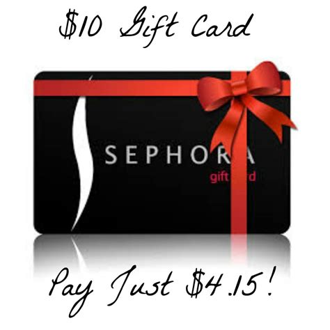 Sephora Gift Card Target - hot get a 10 sephora gift card for just 4 15
