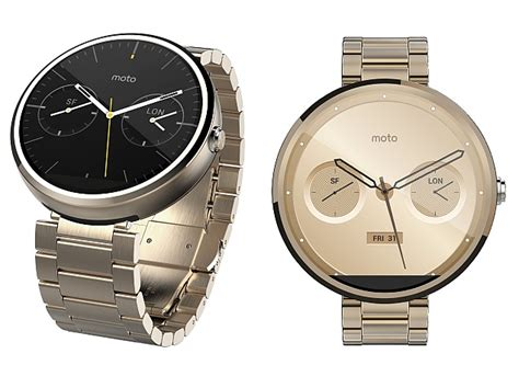 Moto 360 Gold Variant and Leather Cognac Band Listed Briefly on Amazon   Technology News