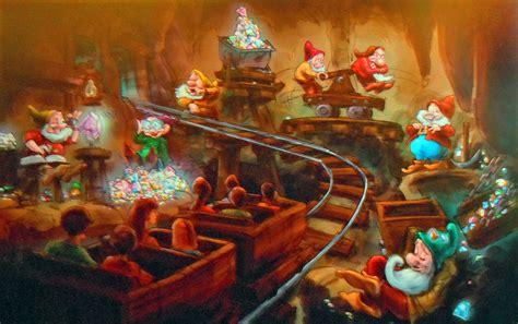 disney new fantasyland seven dwarfs mine concept august 2011 lebeau s le