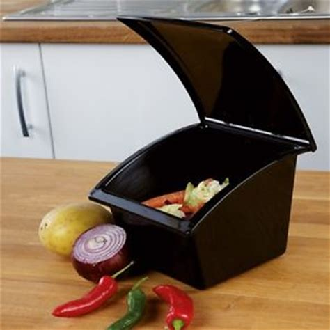 Best Kitchen Compost Bin by Blk Worktop Scrap Bin Kitchen Tabletop Compost Bin