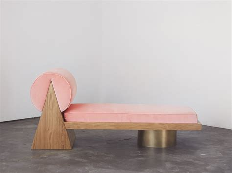 Sight Unseen fountains pink daybeds foam a tour of our booth at