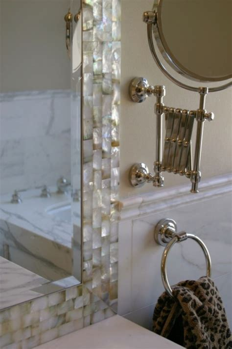 mother of pearl bathroom white mother of pearl tiles design ideas