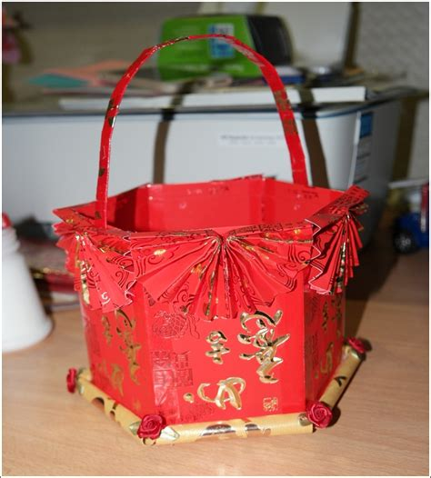 new year basket diy new year angpow basket 171 home is where my
