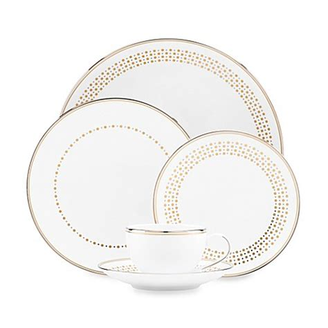 kate spade dinnerware kate spade new york richmont road dinnerware collection bed bath beyond