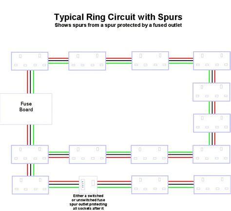 fused spur wiring diagram pole fused spur wiring