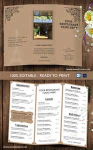 tri fold menu template free search results for tri fold menu templates for word