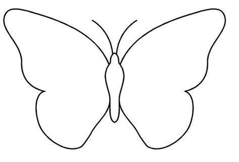 dessins de papillons a imprimer gabarit pour la barrette