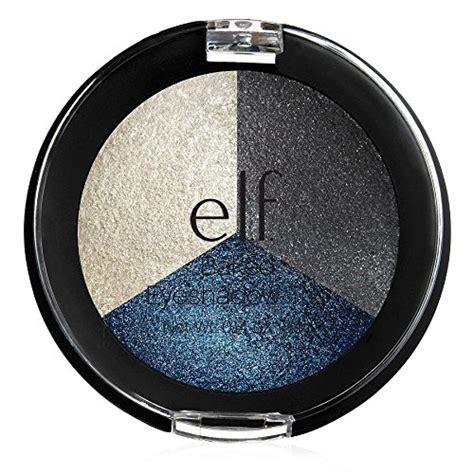 Baked Eyeshadow Trio Smoky Sea e l f baked eyeshadow toasted 0 12 ounce multicolor eye makeup palettes