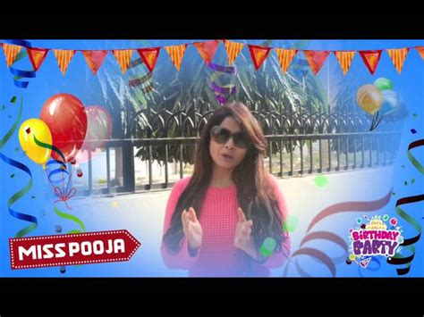 Happy Birthday Pooja Mp3 Download | wishing miss pooja a very happy birthday from